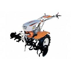 Motocultor O-Mac New 1350-S Diesel, cu diferential si roti de cauciuc (6.5x12), putere motor 12CP, latime de lucru 150cm, 5580-02710