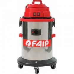 Aspirator industrial FAIP 429, aspirare umeda/uscata, 2 motoare, putere 2400W