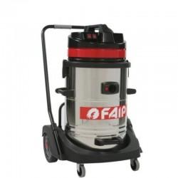 Aspirator industrial FAIP 629, aspirare umeda/uscata, 2 motoare, putere 2400W
