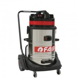 Aspirator industrial FAIP 640, aspirare umeda/uscata, 3 motoare, 3500W