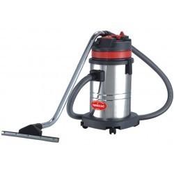 Aspirator CB60-2J SWISSVAC, aspirare umeda/uscata, 2 motor, putere 2000W, cuva inox 60l