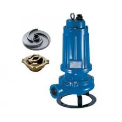 Pompa de drenaj cu tocator Pentax DTRT 550, motor 4000 W, debit apa 300 l/min