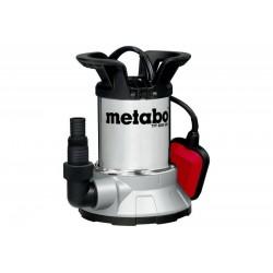 Pompa submersibila pentru apa curata TPF6600SN Metabo, motor 450W, debit apa 6600l/h, carcasa din inox