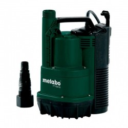 Pompa submersibila pentru apa curata TP7500SI Metabo, motor 300W, debit apa 7500l/h