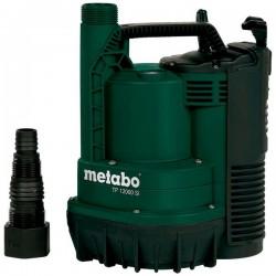 Pompa submersibila pentru apa curata TP12000SI Metabo, motor 600W, debit apa 12000l/h