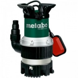 Pompa submersibila TPS16000S COMBI Metabo, motor 970W, debit apa 16000l/h
