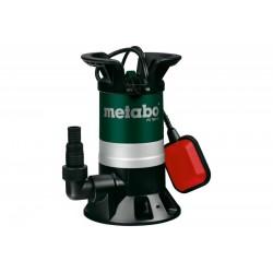 Pompa submersibila pentru apa murdara PS7500S Metabo, motor 350W, debit apa 7500l/h