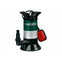 Pompa submersibila pentru apa murdara PS15000S Metabo, motor 850W, debit apa 15000l/h