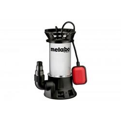 Pompa submersibila pentru apa murdara PS18000SN Metabo, motor 1100W, debit apa 19000l/h