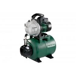 Hidrofor de suprafata 24l HWW 4000/25G Metabo, 1100W, 4000l/h, alimentare 230V