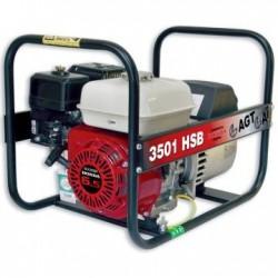Generator de curent monofazat AGT 3501 HSB SE, motor Honda GX200