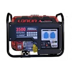 Generator de curent monofazat Loncin, A Series, LC3500-A, R18, putere motor 3.1kW