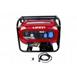 Generator de curent monofazat Loncin LC8000D-DCS, cu automatizare, R25, putere motor 7kW