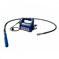 Vibrator pentru beton SIFEE, ax antrenare 3m, cap vibrare 58mm