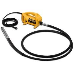 Vibrator pentru beton FOX - ENAR,  ax antrenare 6m,  cap vibrare 38mm