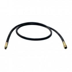 Ax flexibil de transmisie pentru vibrator de beton SIFEE, lungime 4m, pentru cap de vibrare de 25mm