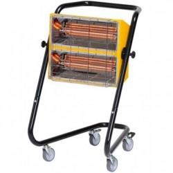 Incalzitor electric cu raze infrarosii MT30, mobil cu roti, putere calorica 3kW, alimentare 230V