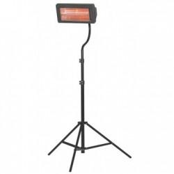 Incalzitor electric cu raze infrarosii MT22, cu trepied, putere calorica 2kW, alimentare 230V