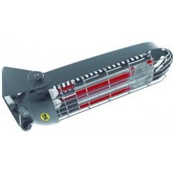 Incalzitor electric cu raze infrarosii SOMBRA 12 MASTER, putere calorica 1.2kW, alimentare 230V