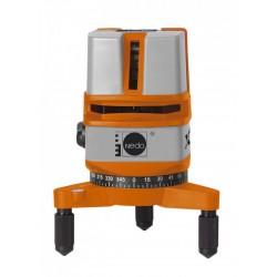 Nivela laser cu linii X-Liner 4 NEDO, cod 460874