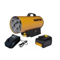 Tun caldura pe GPL, BLP17M DC MASTER, cu accesorii si acumulator, putere calorica 17kW, tensiune acc 14.4V, pornire manuala