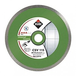 Disc diamantat CSV 115 PRO RUBI, 115/22.2mm, gresie/faianta portelanata