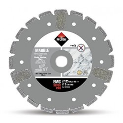 Disc diamantat EMG 125 SUPERPRO RUBI, 125/22.2mm, marmura, piatra vanata