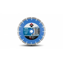 Disc diamantat SCA 230 SUPERPRO RUBI, 230/22.2mm, piatra naturala dura, granit, bazalt