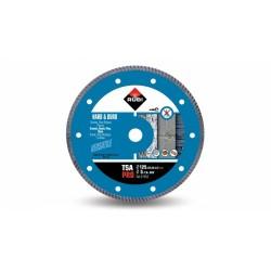 Disc diamantat TSA 125 PRO RUBI, 125/22.2mm, granit, clinker, caramida reflactara