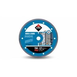 Disc diamantat TSA 230 PRO RUBI, 230/22.2mm, granit, clinker, caramida reflactara