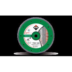 Disc diamantat TSV 230 PRO RUBI, 230/22.2mm, caramida, beton, terazzo