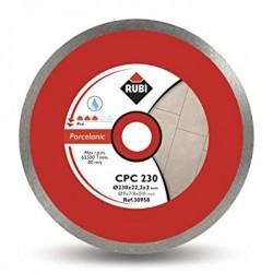 Disc diamantat CPC 180 PRO RUBI, 180/25.4mm, gresie/faianta portelanata