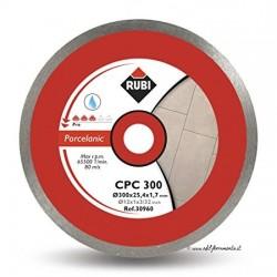 Disc diamantat CPC 300 PRO RUBI, 300/25.4mm, gresie/faianta portelanata