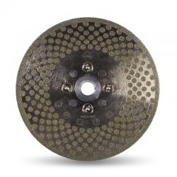 Disc diamantat ECD 125 SUPERPRO RUBI, 125mm/M14, taiere si slefuire piatra naturala, gresie portelanata