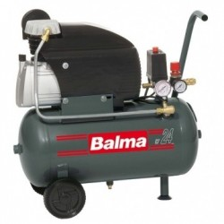 Compresor de aer SIRIO FC 2/24 BALMA, debit aer aspirat 222l/min, putere motor 1.5kW, alimentare 230V