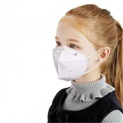 Set 2 buc. Masca respiratoare PENTRU COPII,antivirus,calasa KN95/N95 (FFP2),4 straturi FPP2,set 2 buc,LIVRARE RAPIDA DIN STOC!