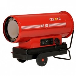 Tun de caldura cu ardere directa GE105 CALORE, putere 111,1kW, debit aer 5470mcb/h, motorina, 230V