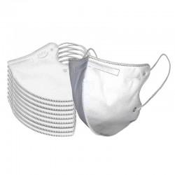 Masca respiratoare profesionala 5 straturi filtrante KN95 FFP2 set 5 bucati