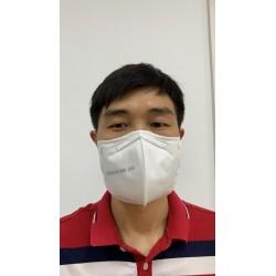 Masca respiratoare tip butterfly profesionala 5 straturi filtrante KN95 FFP2, full face, set 10 bucati