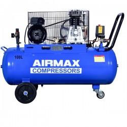 Compresor de aer Z-2065-100L AIRMAX,  debit aer aspirat 336 l/min,  capacitate butelie 100 L,  presiune 8bar,  230V