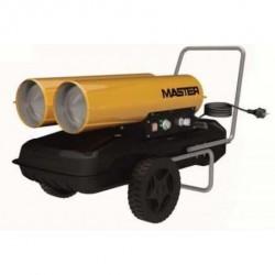 Tun de caldura cu ardere directa, cu 2 tuburi, B300CED MASTER, putere 44kW, debit aer 900mcb/h, motorina, 230V