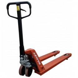 Transpalet manual TM25-R PU MAXLIFT cu roti din poliuretan,  capacitate de ridicare 2500kg