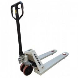 Transpalet manual TM25-E PU MAXLIFT cu roti din poliuretan,  capacitate de ridicare 2500kg