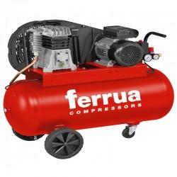 Compresor de aer FB28B-150 CM3 FERRUA,  debit aer aspirat 330 l/min,  capacitate butelie 150 L,  presiune 10bar,  alimentare 230V