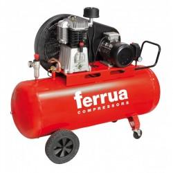 Compresor de aer FB5-270 CT5.5 FERRUA,  debit aer aspirat 640 l/min,  capacitate butelie 270 L,  presiune 11bar,  alimentare 400V