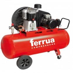 Compresor de aer FB10-500 CT10 FERRUA,  debit aer aspirat 1.230 l/min,  capacitate butelie 500 L,  presiune 11bar,  alimentare 400V