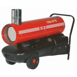 Tun de caldura cu ardere indirecta EC22 CALORE, putere 23,4kW, debit aer 650mcb/h, motorina, 230V