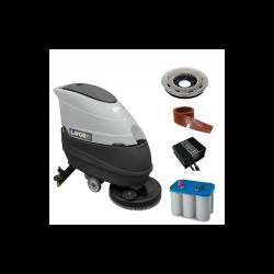 Masina pentru spalat si aspirat pardoseli Free Evo 50B LAVOR,  alimentare 24V,  productivitate 2000 mp/h