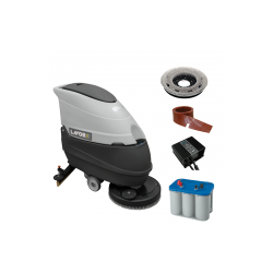 Masina pentru spalat si aspirat pardoseli Free Evo 50BT LAVOR,  alimentare 24V,  productivitate 2000 mp/h