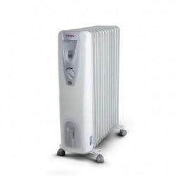Calorifer electric cu ulei TESY CB 2512 E01R, 12 elementi, putere calorica 2500W